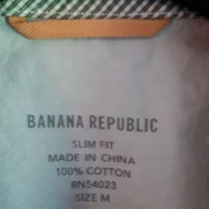 Banana Republic Shirts - BANANA REPUBLIC MEN'S SHIRT LONG SLEEVE SLIM FIT M